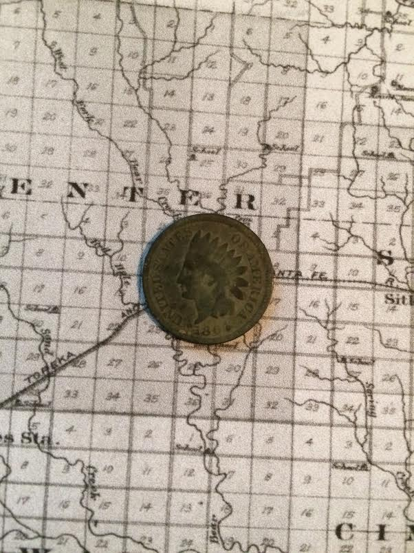 My personal oldest coin find. What a great feeling!